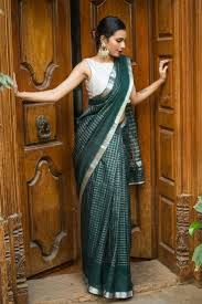 Buy Green Plain Cotton Silk Best 25 Silk Cotton Sarees Ideas On Pinterest Sarees Saree And