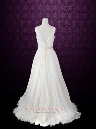 grecian wedding dress v neck silk chiffon grecian wedding dress lace chiffon