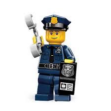 amazon com lego 71000 series 9 minifigure police man toys u0026 games