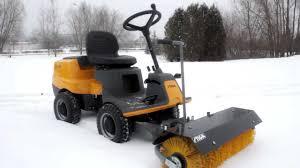 stiga traktor ogrodowy villa urządzenie wielofunkcyjne elektropark