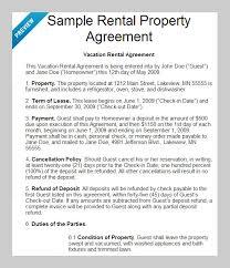 8 best rental agreement templates to download free u0026 premium