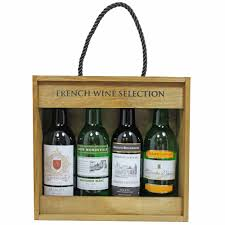 gift packaging for wine bottles customize handmade pu leather wooden wine packaging gift box wine