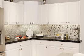 Kitchen Backsplash Photos White Cabinets Kitchen Design 20 Photos White Mosaic Tile Kitchen Backsplash