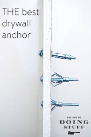 The 25 Best Anchor Print - the only drywall anchor you should ever use the art of doing