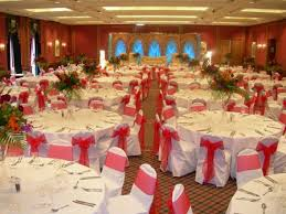Red And Silver Wedding Red White And Silver Wedding Decor 7538