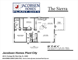 Jacobsen Mobile Home Floor Plans by Plant City Model Center The Factory Home Store