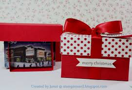christmas gift card boxes stin pop up gift card box tutorial