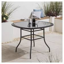cheap outside table and chairs garden furniture rattan wooden metal tesco