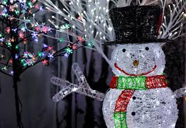 outdoor lighted snowman costco charming snowman outdoor