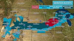 Map Of The Upper Peninsula Of Michigan Blizzard Warnings Continue As Winter Storm Quid Pushes Through