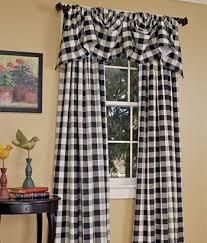 Really Curtains Buffalo Check Curtains Paula Has Green Ones I Really Like The