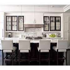 white kitchen island with stools kitchens white leather stools espresso kitchen island marble