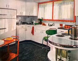 1950 home decor kitchens of the 1950s house beautiful kitchens and traditional