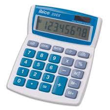 calculatrice bureau ibico calculatrice de bureau 8 chiffres 208x