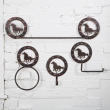 Horse Bathroom Accessories by Western Inspired Bath Decor