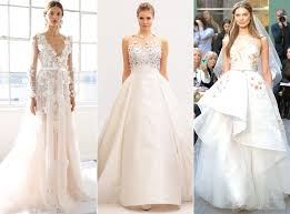 wedding dress trend 2017 bridal fashion week 2017 the best wedding gown trends e