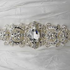 Wedding Sashes Wholesale Vintage Rhinestone Crystal Wedding Sash Bridal Belt 25