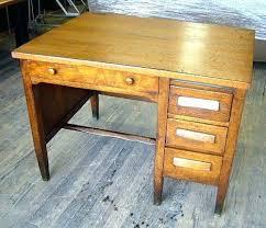 Small Vintage Desk Small Vintage Desk Antique Roll Up Best Oak Desks Images On School