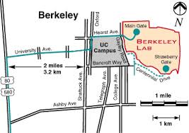 lbl map directions to berkeley lab