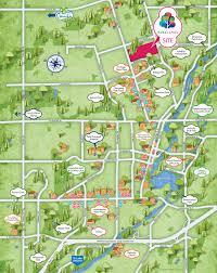 site plan amenities map mason homes