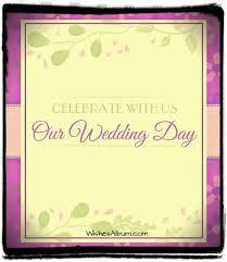 Wedding Invitation Examples Wedding Invitation Wording With Examples Wishes Album