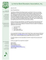 Non Profit Donation Receipt Letter Rmsje Raffle Donation Letter