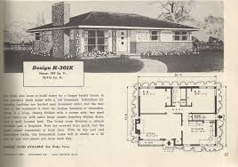 House Plan Search 1950s Ranch House Plans 1950 Bun Luxihome