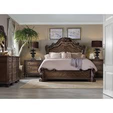 Rhapsody King Panel Bed Hooker Furniture Star Furniture - Bedroom sets houston