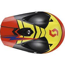 scott motocross helmet scott 350 pro podium black orange offroad helmets largest