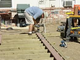 how to build a deck how tos diy