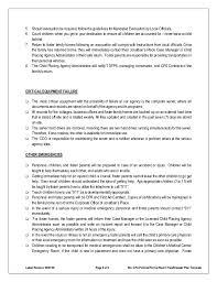 emergency evacuation procedure template eliolera com