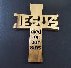 religious gift ideas wood cross jesus died for our sins religious gift wood crosses