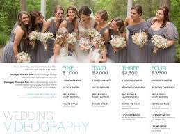 wedding videography prices wedding videographer prices wedding photography