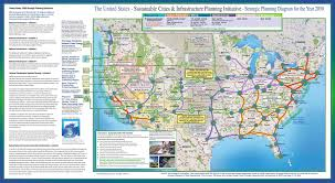 Eastern United States Road Map by Projects Design Earth Synergy