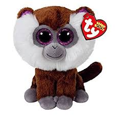 amazon ty beanie boo plush tamoo monkey 15cm toys u0026 games