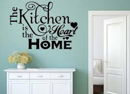 kitchen closed wall art quote sticker kitchen dining room home