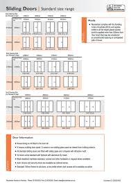 Standard Door Sizes Interior Standard Patio Door Size Uk Sizes Opening Replacement Glass
