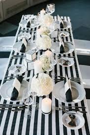 Black And White Striped Table Cloth 39 Timeless Black Tie Wedding Ideas Weddingomania