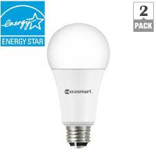 led bulb in 3 way l ecosmart smart bulb led bulbs light bulbs the home depot