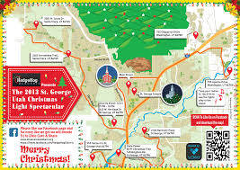 Draper Utah Map by The 2013 St George Christmas Light Spectacular Hedgehog Electric