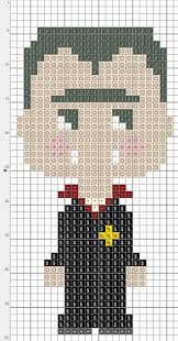 97 best halloween perler images on pinterest bead patterns