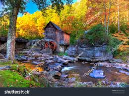fall colors mountains west virginia stock photo 68151862