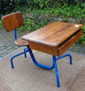 bureau ecolier 1 place mobilier ancien pour enfants chaise haute enfant pupitre ecolier