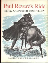 paul revere s ride book paul revere s ride by longfellow henry wadsworth illustrated by