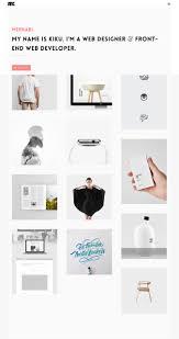 best minimalist portfolio website templates for logo designer