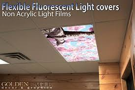 Kitchen Fluorescent Light Covers by Pink Cherry Blossom 2ft X 4ft Drop Ceiling Fluorescent
