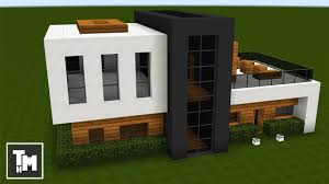 how to build a small modern house minecraft how to build a small modern house easy episode 3 2017