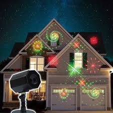 christmas animated galaxy laser light with timer and memory red