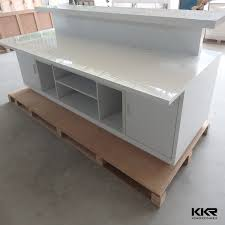 Small Salon Reception Desk High End Front Desk Counter Designsluxury Modern Receptionist