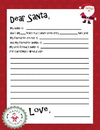 25 unique letter to santa template ideas on pinterest santa